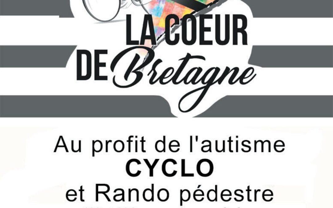 """""""La Cœur de Bretagne""""  manifestation sportive (cycliste, randonnée) LE DIMANCHE 26 SEPTEMBRE 2021"""